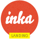 INKA - Retro Flavor Landing Page - ThemeForest Item for Sale