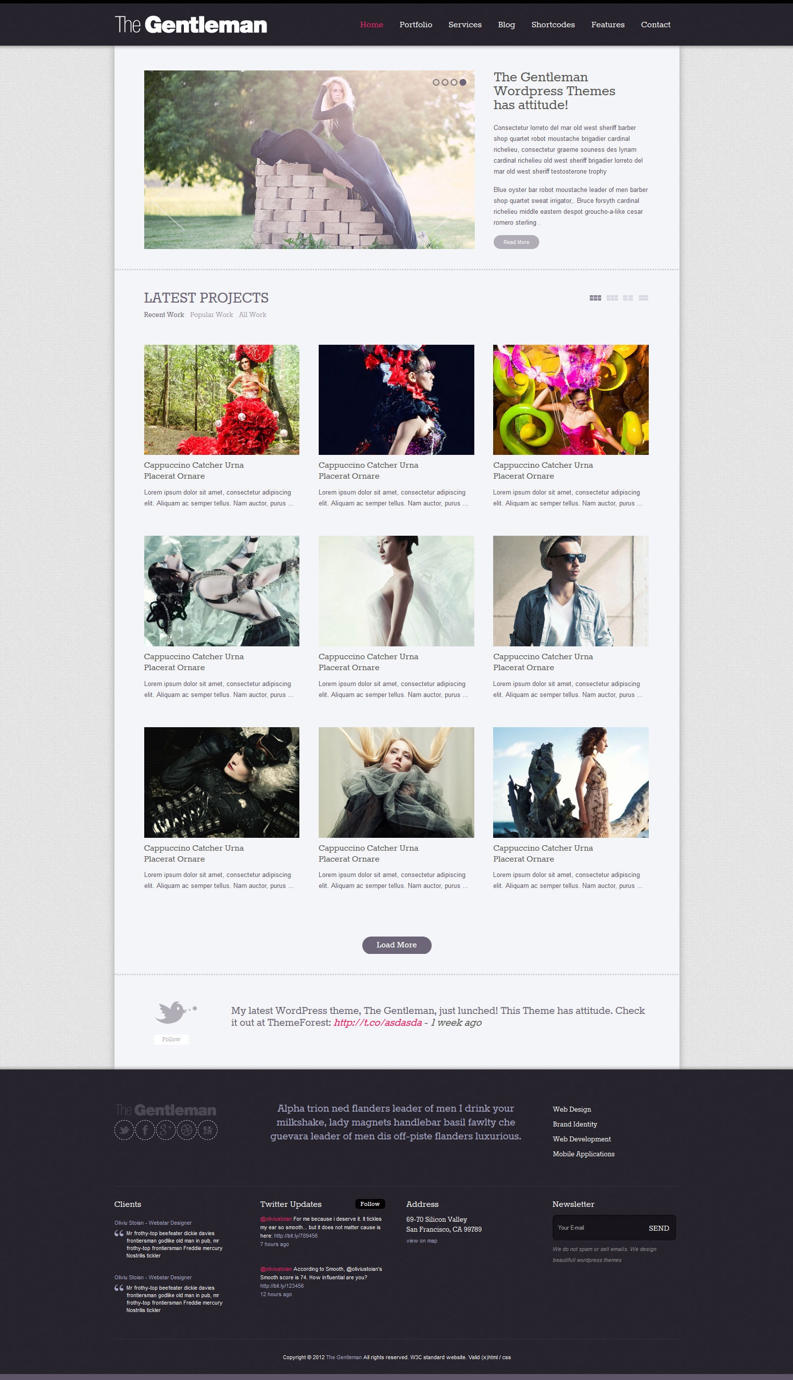 The Gentleman - Business & Portfolio HTML Template