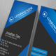 Grey and Blue Business Card - GraphicRiver Item for Sale