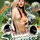 Summer Rain Party Flyer Psd Template  - GraphicRiver Item for Sale