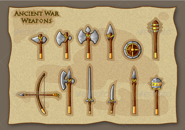 12 Ancient War Weapons  - Man-made objects Objects