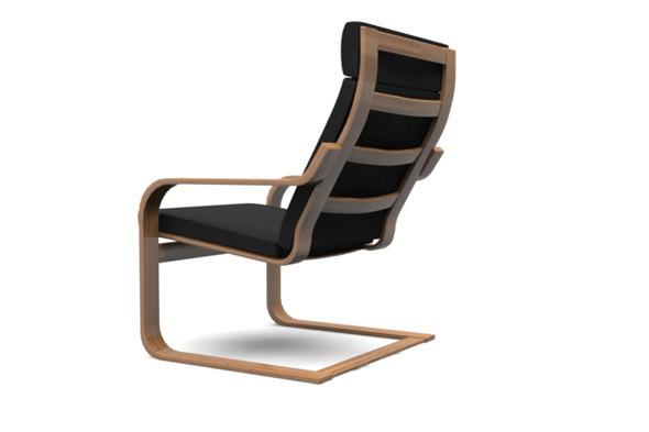 3DOcean Ikea PO NG Chair 2255997