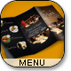 Tasty Restaurant Menu Tri-Fold Brochure - GraphicRiver Item for Sale