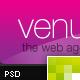 Venus – Online Portfolio  Free Download