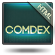 COMDEX — Clean and Modern Website Template - ThemeForest Item for Sale