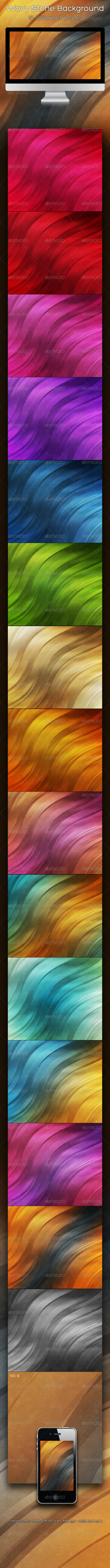 GraphicRiver Wavy Stone Background 2261079