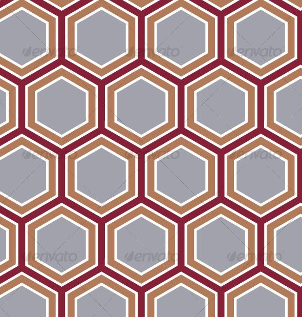 GraphicRiver Retro Honeycomb Pattern 84340