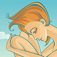 Woman On Beach - GraphicRiver Item for Sale