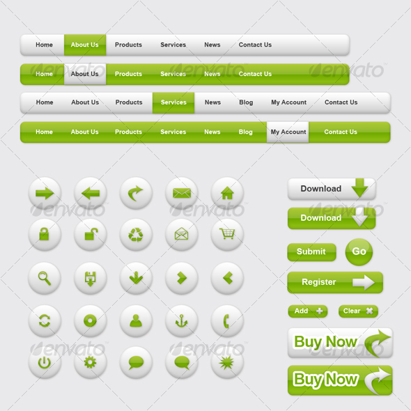 GraphicRiver Green Color Theme Clean 84581