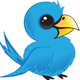 Vector twitter bird illustration - GraphicRiver Item for Sale