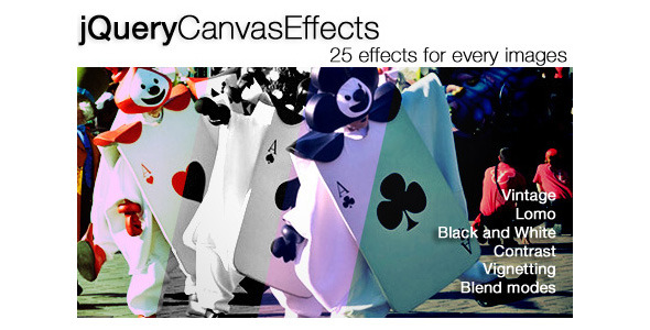 jQuery Canvas Effects Plugin - CodeCanyon Item for Sale
