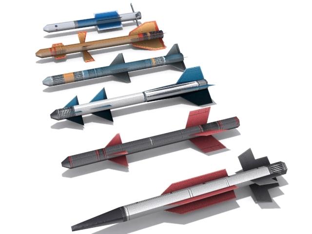3DOcean Medium Range Missiles 2276080