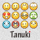 Tanuki Pixel Emoticons - GraphicRiver Item for Sale