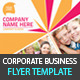 Business &amp;amp; Corporate Flyer PSD Templates - GraphicRiver Item for Sale