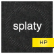 splaty | Portfolio-Blog WordPress Theme - ThemeForest Item for Sale