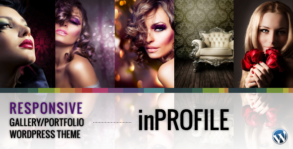 ThemeForest inProfile Responsive Gallery Portfolio WP Theme 2282285