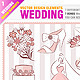 Wedding Design Elements and Invitations - GraphicRiver Item for Sale