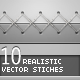 10 Realistic Stitches - GraphicRiver Item for Sale