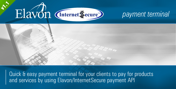 CodeCanyon Elavon InternetSecure Payment Terminal 1327761