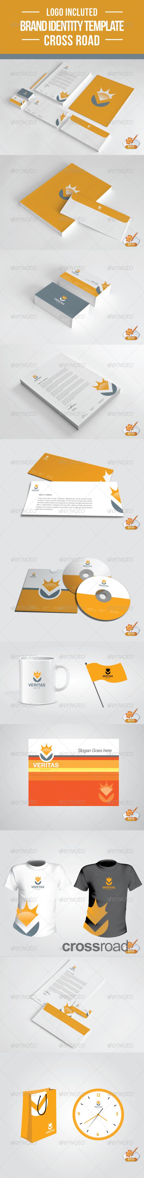 GraphicRiver Veritas Brand Stationery Template 2284937