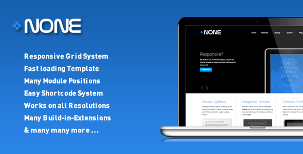 ThemeForest WS-None Responsive & Clean Joomla Template 2286769