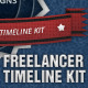 Freelancer Timeline Kit - GraphicRiver Item for Sale