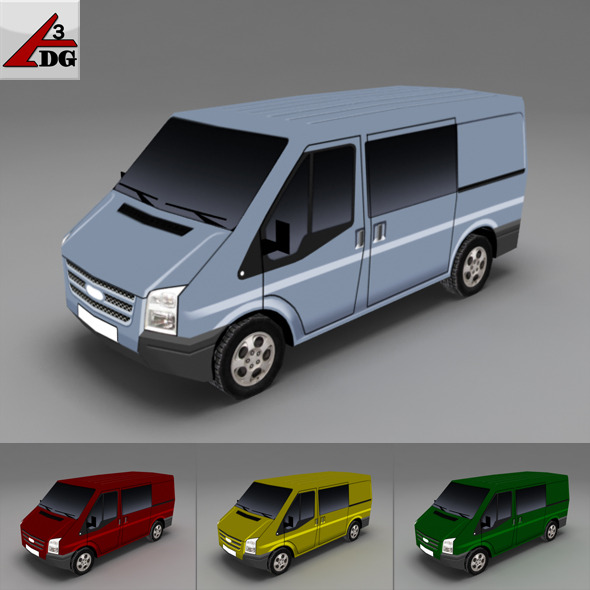 3DOcean ford transit tourneo FT 2288328