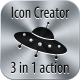 Brushed metal icons  - GraphicRiver Item for Sale