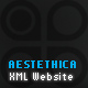 Aesthetica - Multi-language XML Website - ActiveDen Item for Sale