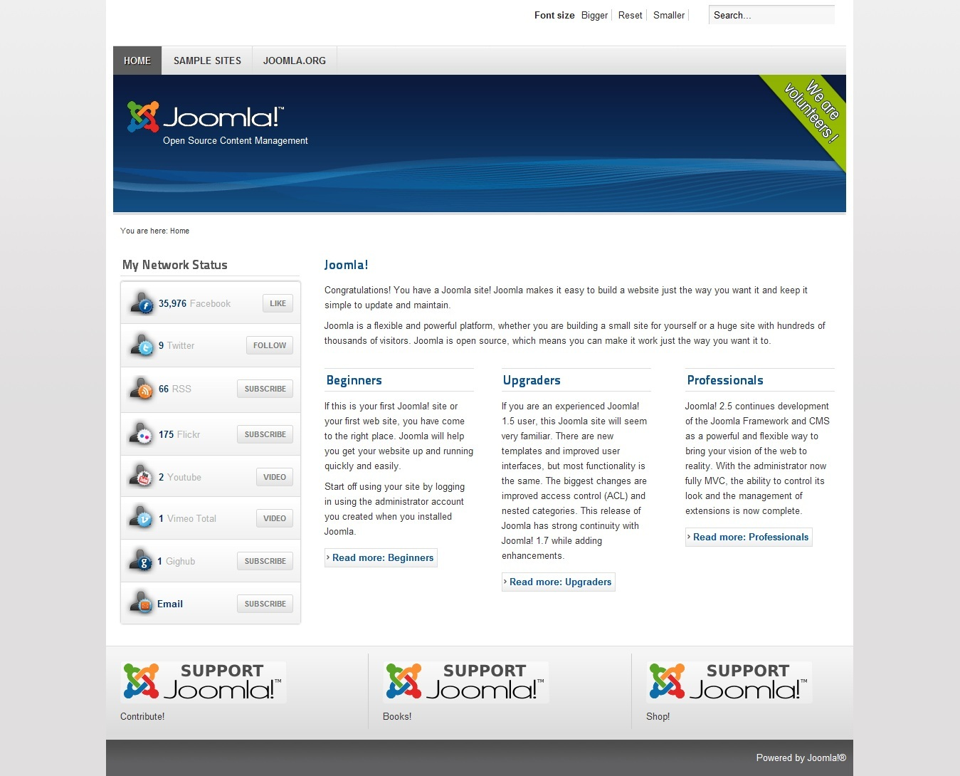 Joomla Smart Network Counter