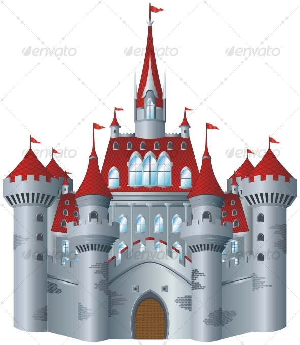 GraphicRiver Fairy-tale castle 85283