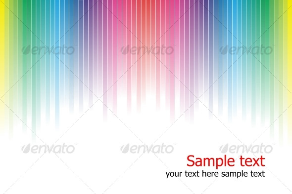 GraphicRiver Abstract rainbow colours background 85339