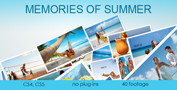 After Effects Project - VideoHive Memories of Summer 2294162