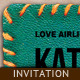 Invitation Template - Stitched Fur - GraphicRiver Item for Sale