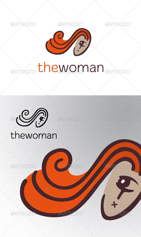 Mute Woman - Humans Logo Templates