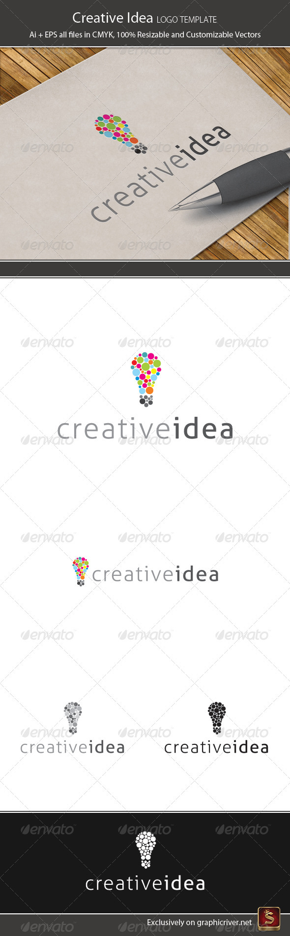 Creative Idea - Objects Logo Templates