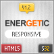 Energetic - Responsive HTML5 Template - ThemeForest Item for Sale