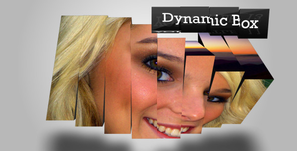 VideoHive Dynamic Rotate Box Show 2295775