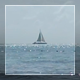 Sky Line Of The Ocean With Yacht - VideoHive Item for Sale