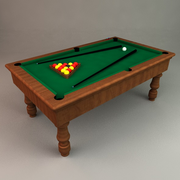 3DOcean Pool Table 71245
