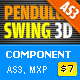Pendulum Swing 3D Component AS3 - ActiveDen Item for Sale