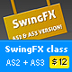 SwingFX class / AS2 + AS3 - ActiveDen Item for Sale