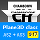 Textured Plane3D class / AS2 + AS3 - ActiveDen Item for Sale