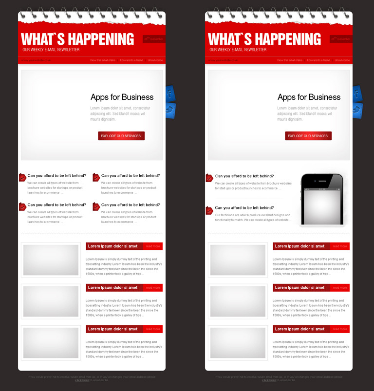 Business E-mail Theme