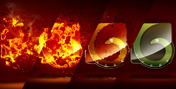 VideoHive Burn Reveal 2297484