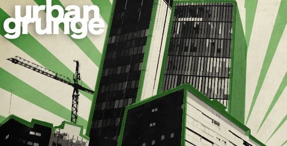 After Effects Project - VideoHive Urban Grunge 79574