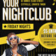 Indie Club Party Flyer Template - GraphicRiver Item for Sale