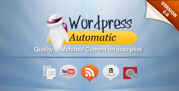 CodeCanyon Wordpress Automatic Plugin 1904470