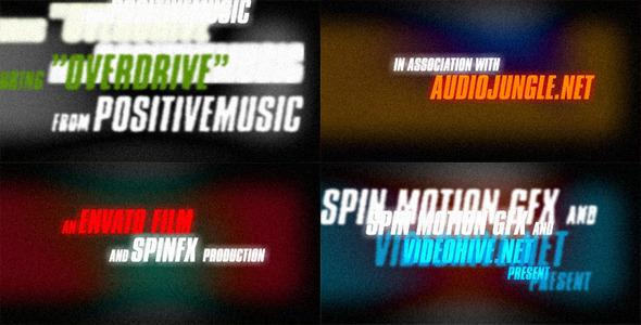 VideoHive Grunge Opener 2300820