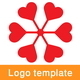 Heart Link Logo Template - GraphicRiver Item for Sale